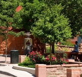 Cheyenne Spring, spring house, Manitou Springs