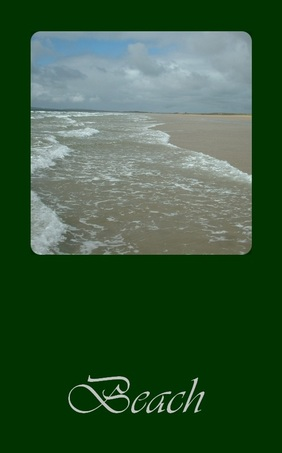 beach, oracle card