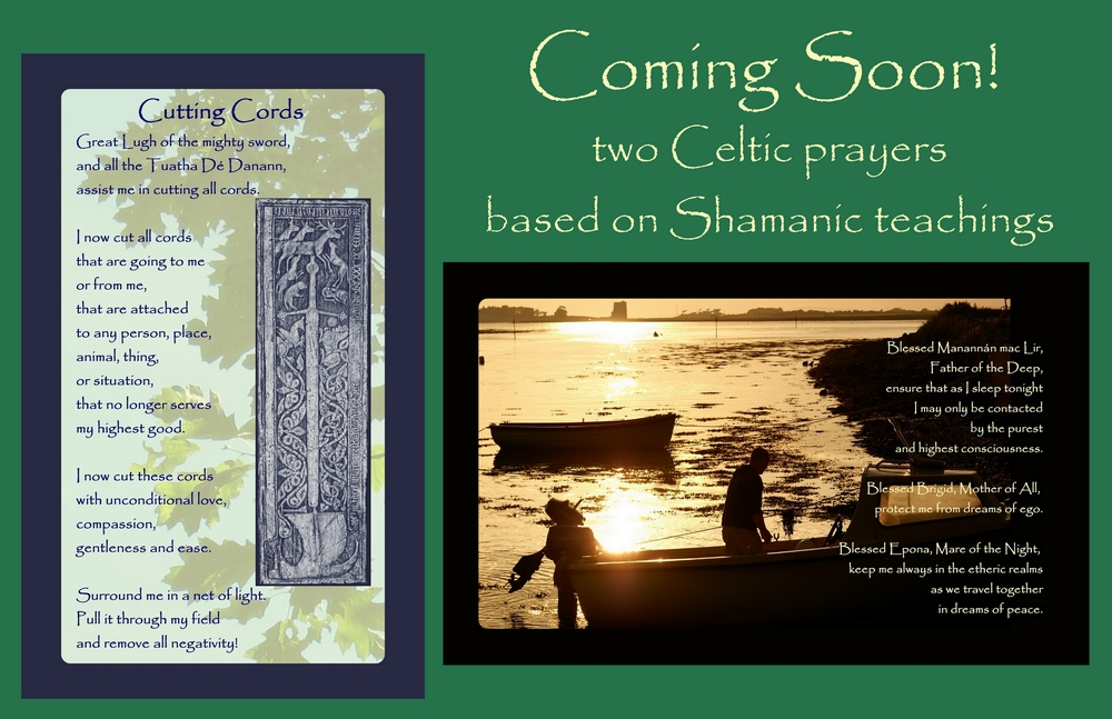 Celtic shamanic prayer cards